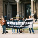 Rally to abolish the death penalty