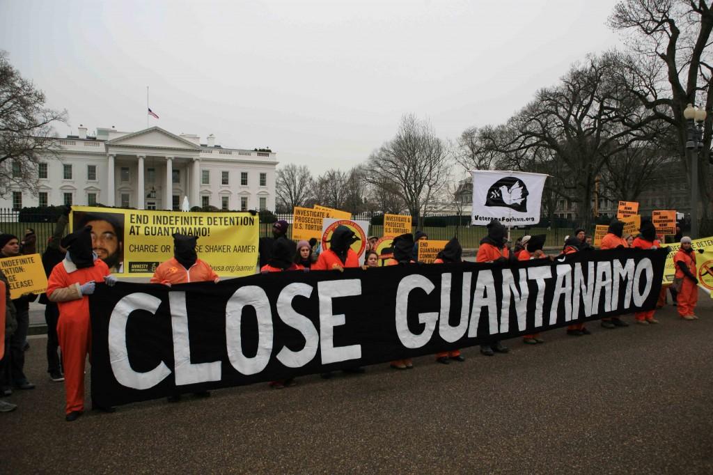 Guantanamo rally White House