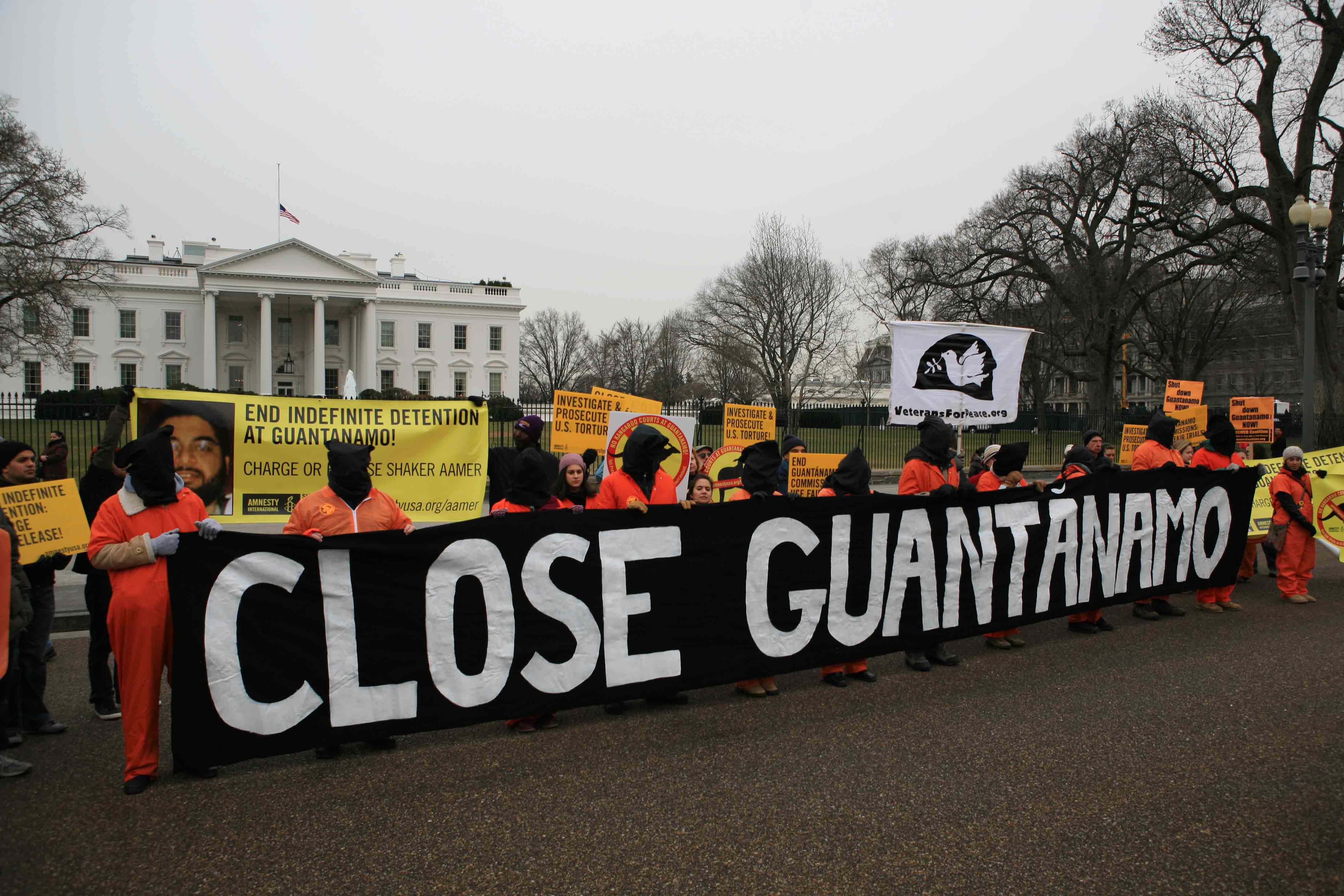 Guantanamo rally White House