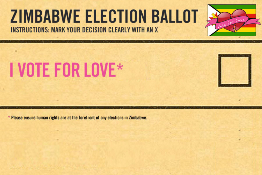 Help Zimbabwe Vote for Love this Valentines Day!