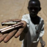 Sudan | Child holds bullets