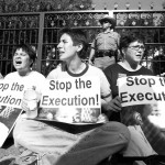 stop the execution death penalty protesters