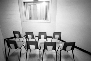 witness viewing room death penalty