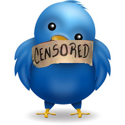 twitter bird censored