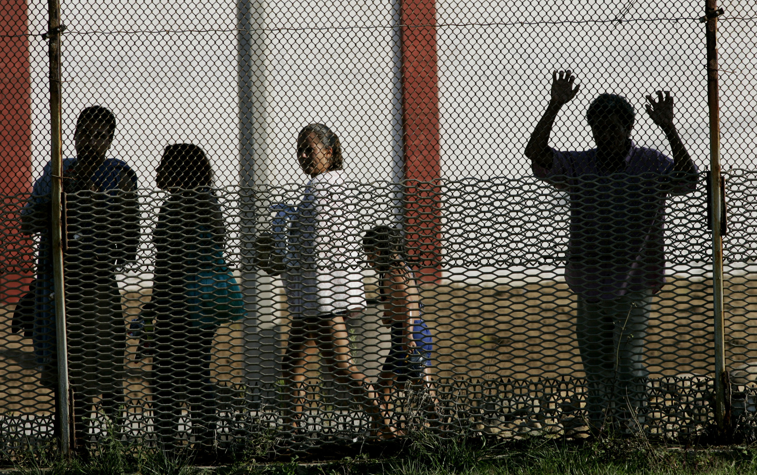 The journey to cross the border from Mexico to the US is a terrifying and treacherous one. (Photo by Sandy Huffaker/Getty Images)