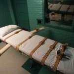 Death chamber in Huntsville, Texas