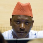 Congolese warlord Thomas Lubanda Dyilo listens at the International Criminal Court. MARCEL ANTONISSE/AFP/Getty Images