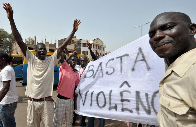 Guinea-Bissau protests