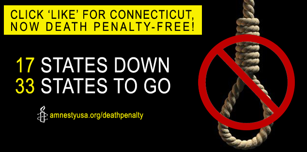death penalty abolished in connecticut