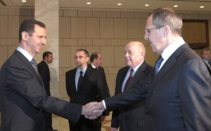 Assad and Lavrov