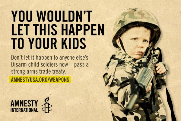 arms trade image child soldier