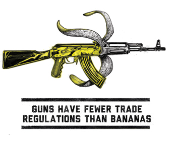 guns have fewer trade regulations than bananas