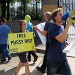 Amnesty Rallies to Free Pussy Riot in Washington, DC
