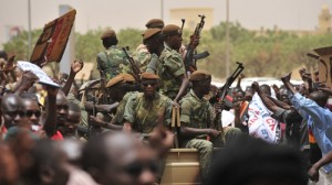 Supporters of the Military Junta in Mali