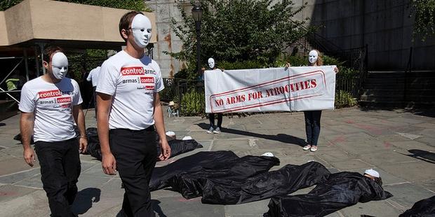 arms trade treaty action at UN