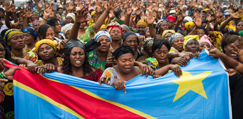 Women Call for Peace in Congo