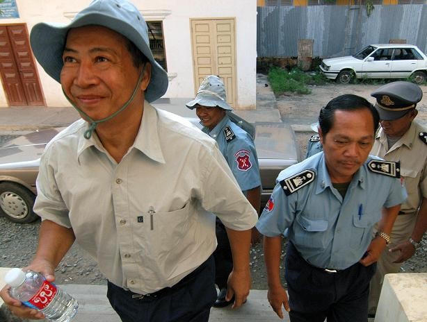 Mam Sonando arrested in Cambodia in 2005