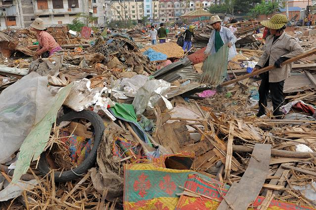 forced evictions in cambodia