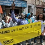 gambia executions protest