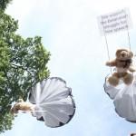 belarus teddy bears fly over minsk