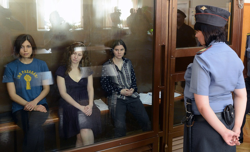 members of pussy riot convicted
