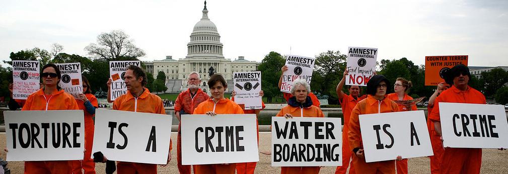 torture protest washington dc