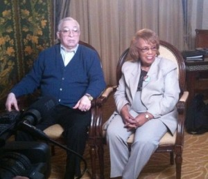 Death penalty abolitionists Rev. Reynolds Thomas and Vera Thomas, who have been fighting to keep their son Reggie Clemons from being executed in Missouri despite a strong case for innocence and gross prosecutorial misconduct (Photo Credit: Amnesty International).
