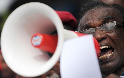 Human Rights Activist in Sri Lanka