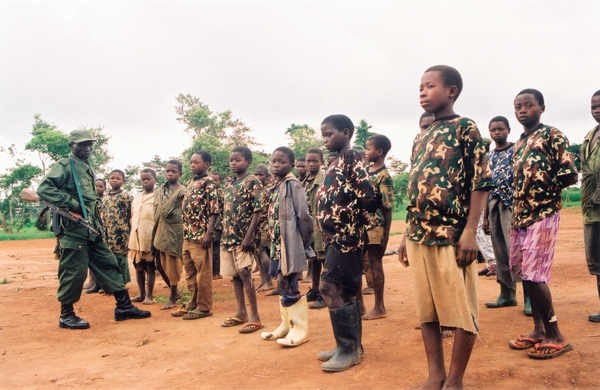 child soldiers DRC congo