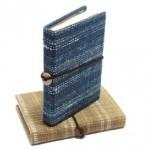 Handmade fabric journal