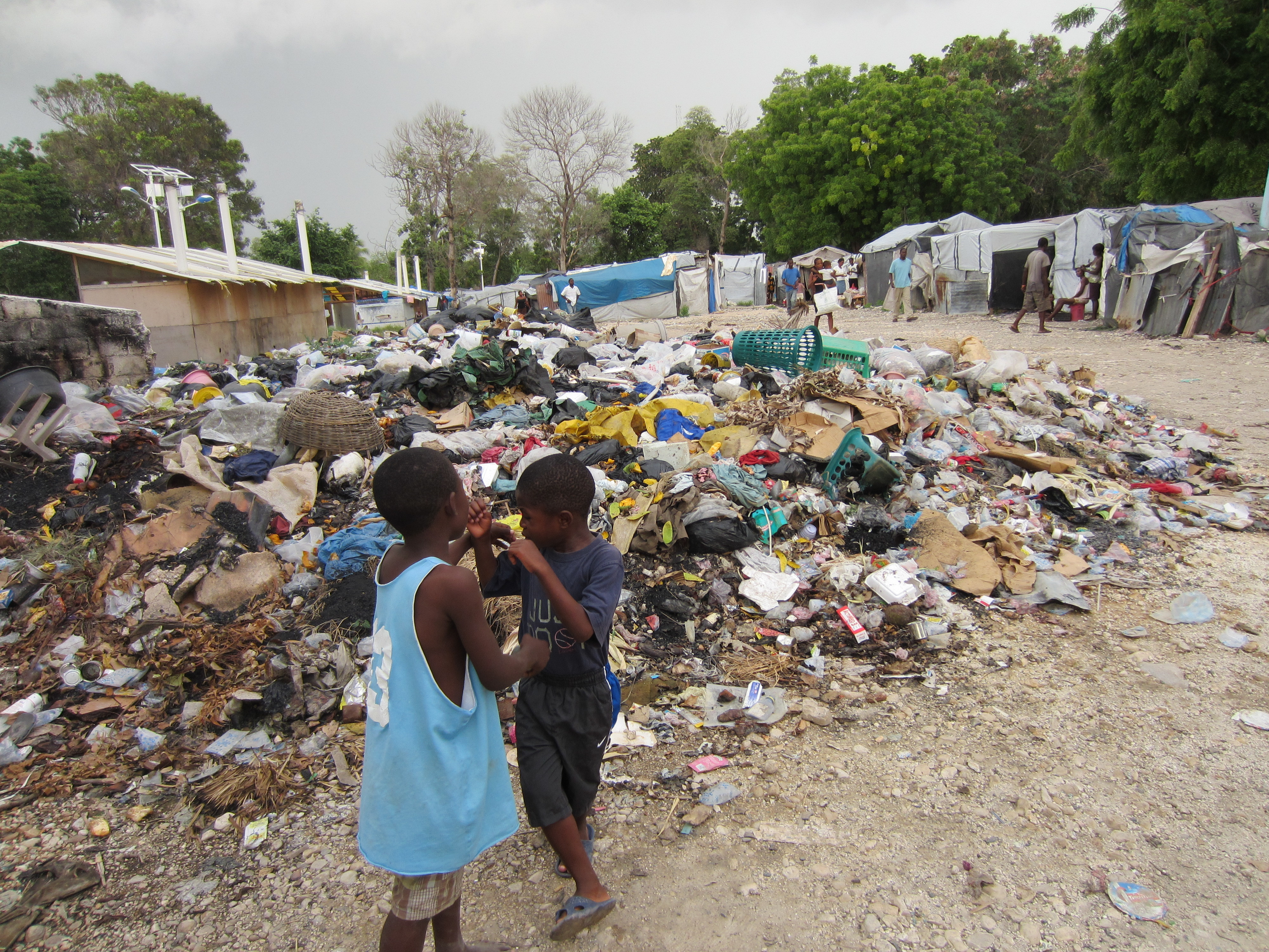 Camp Grace Village, Carrefour municipality, Port-au-Prince.