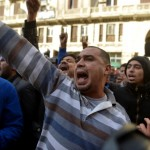 Haitham was randomly detained with others who had taken part in demonstrations against the military ahead of the third anniversary of the January 25 Revolution (Photo Credit: Mahmoud Khaled/AFP/Getty Images).