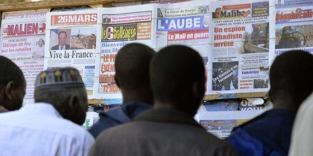 France has deployed some 550 soldiers to Mali© Eric Feferberg/AFP/Getty