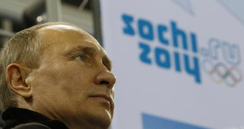 Putin in Sochi