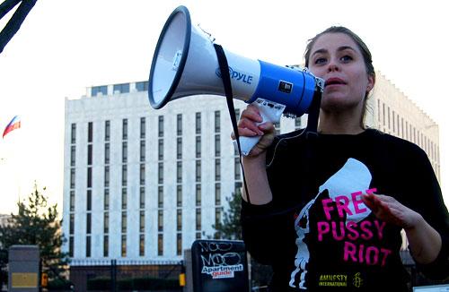 Amnesty campaigner Jasmine Heiss