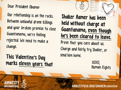 Shaker Aamer Valentine