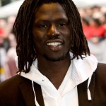 Rapper and humanitarian Emmanuel Jal is a former child soldier who is urging President Obama to back a strong Arms Trade Treaty (Photo Credit: Samir Hussein/Getty Images).