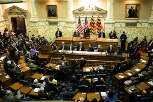After decades of work towards abolition, activists were finally rewarded when the Maryland House of Delegates passed the death penalty repeal bill (Photo Credit: Marvin Joseph/The Washington Post via Getty Images).