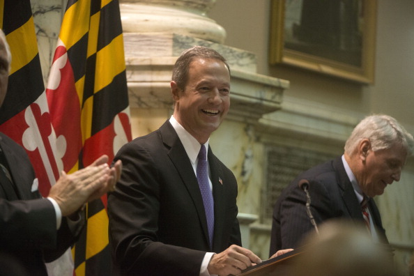 Today the Maryland House of Delegates followed the lead of the state Senate and passed the death penalty repeal bill. The bill now goes to Governor Martin O'Malley who almost certainly will sign it, making Maryland the 18th state to abandon capital punishment (Photo Credit: Marvin Joseph/The Washington Post via Getty Images)