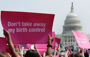 Reproductive Rights Activists Hold Stand Up For Women's Health Rally In DC