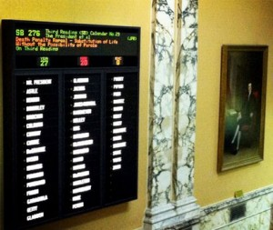 Maryland Senate death penalty vote
