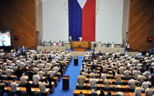 Newly-elected members of the Phillipine
