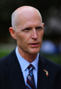 Although Florida makes more death row mistakes than any other state, Governor Rick Scott is signing more death warrants and he's considering a bill that would shorten appeals (Photo Credit: Joe Raedle/Getty Images).