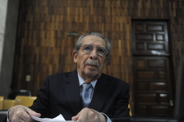 Former military leader Efrain Rios Montt's conviction for genocide and crimes against humanity has been overturned, but there is reason to hope (Photo Credit: Johan Ordonez/AFP/Getty Images).