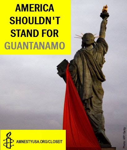 America shouldn't stand for Guantanamo
