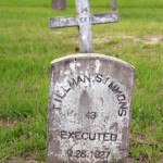 "A cemetery for prisoners in Huntsville, Texas. Grave markers with an ""X"" or the word ""Executed"" indicate the prisoner was put to death (Photo Credit: Chantal Valery/AFP/Getty Images)."