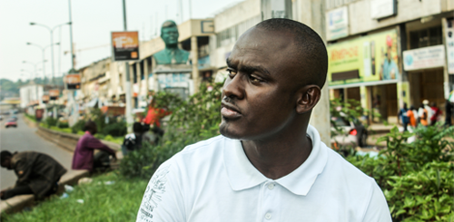 Stéphane Koche has been an LGBTI activist in Cameroon since 2005 (Photo Credit: Amnesty International).