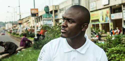 Denis Nzioka is a gay rights activist based in Nairobi
