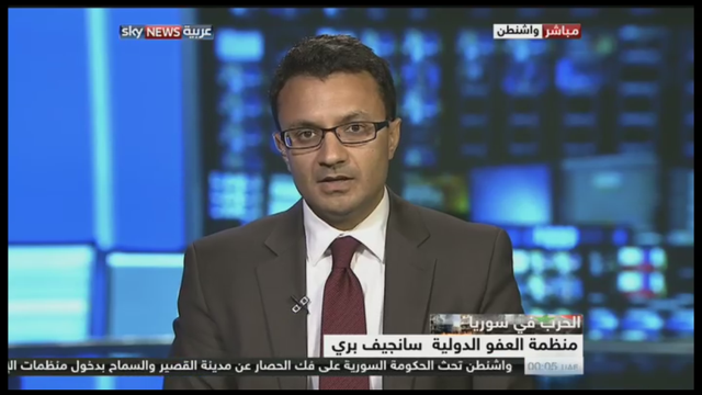 Sunjeev Bery on Sky News Arabia