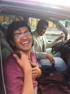 Abdul Ilah Haydar Shayi' (Photo Credit: Jeremy Scahill on Twitter @Jeremyscahill)